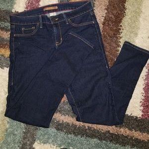 Denim - Dark blue jeans
